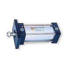 DHC-AC(ø40~ø125) Series<br> 로드측 플렌지형(FA형)<br>헤드측 플렌지형(FB형)