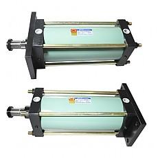 DHC-AC(ø140~ø300) Series <br>로드측 플렌지형(FA형)<br>헤드측 플렌지형(FB형)
