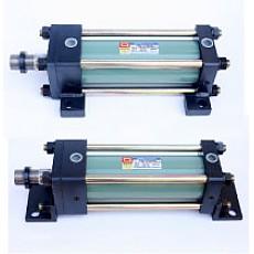 DHC-HS Series <br>측면후트형(LA형) <br>축방향후트형(LB형)